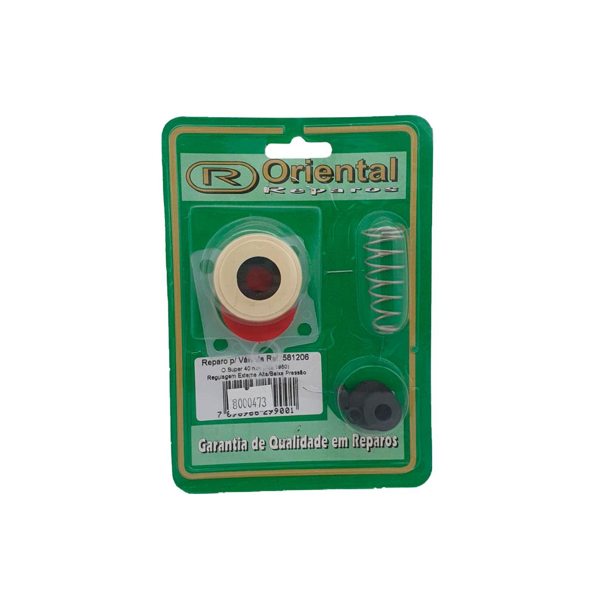 Reparo Válvula Oriente Super 40mm C/ Regulador