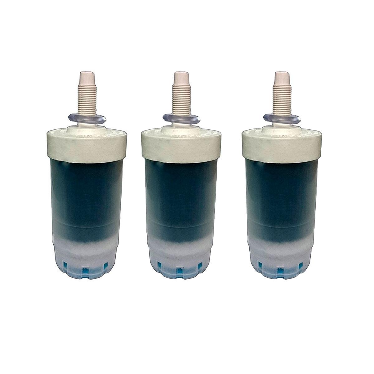 Vela Refil De Filtro Econ P - Kit 3 Und