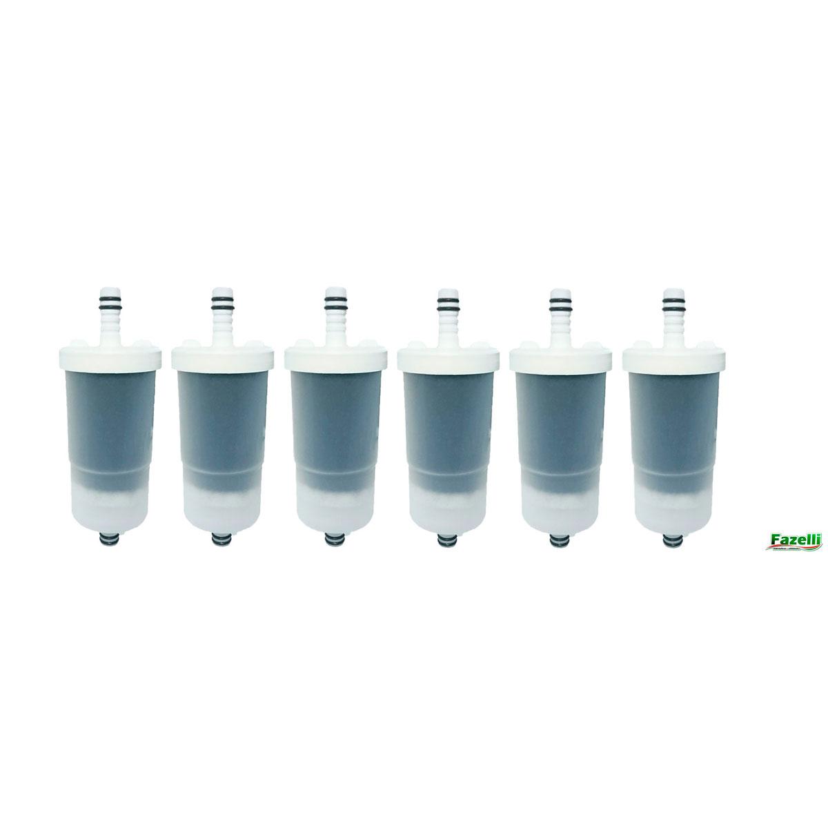 Vela Refil De Filtro Nobre P - Kit Com 6 Und