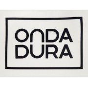 Adesivo médio preto Onda Dura
