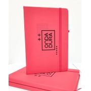 Caderno Vermelho Onda Dura
