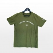 Camiseta verde World Wide