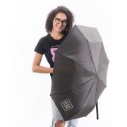 Guarda chuva preto com logo oficial Onda Dura