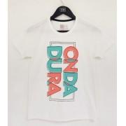 Camiseta branca infantil Onda Dura color 90º