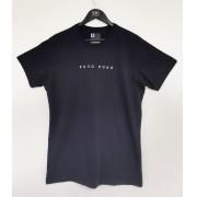 Camiseta preta Onda Dura invertido
