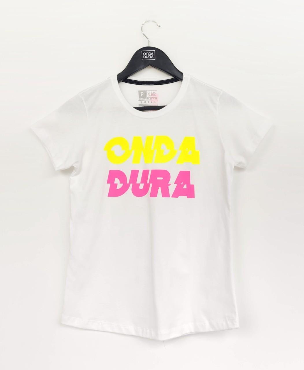 Baby look Onda Dura duo neon