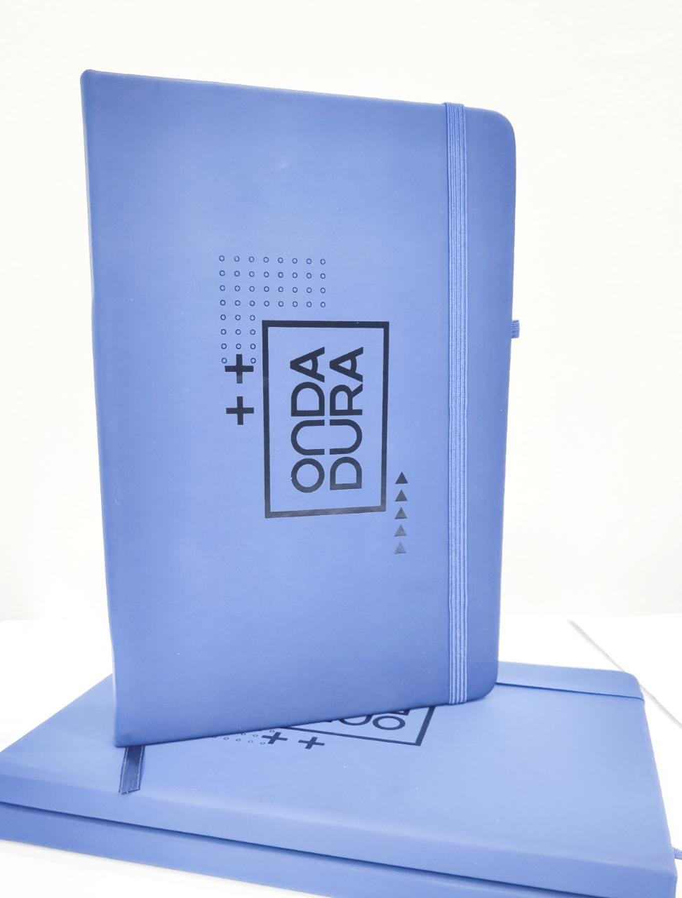 Caderno Azul Marinho Onda Dura
