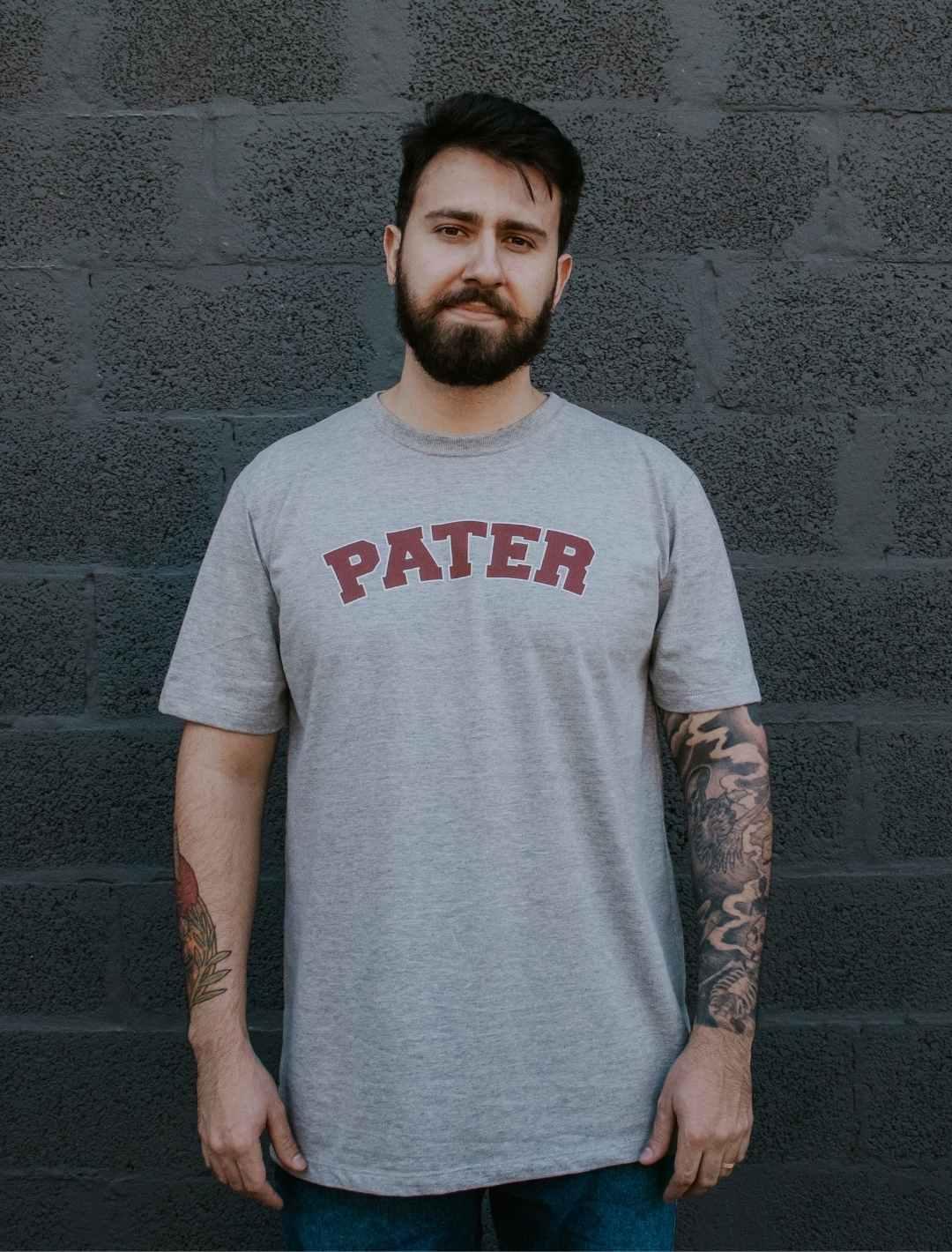 Camiseta Mescla Pater