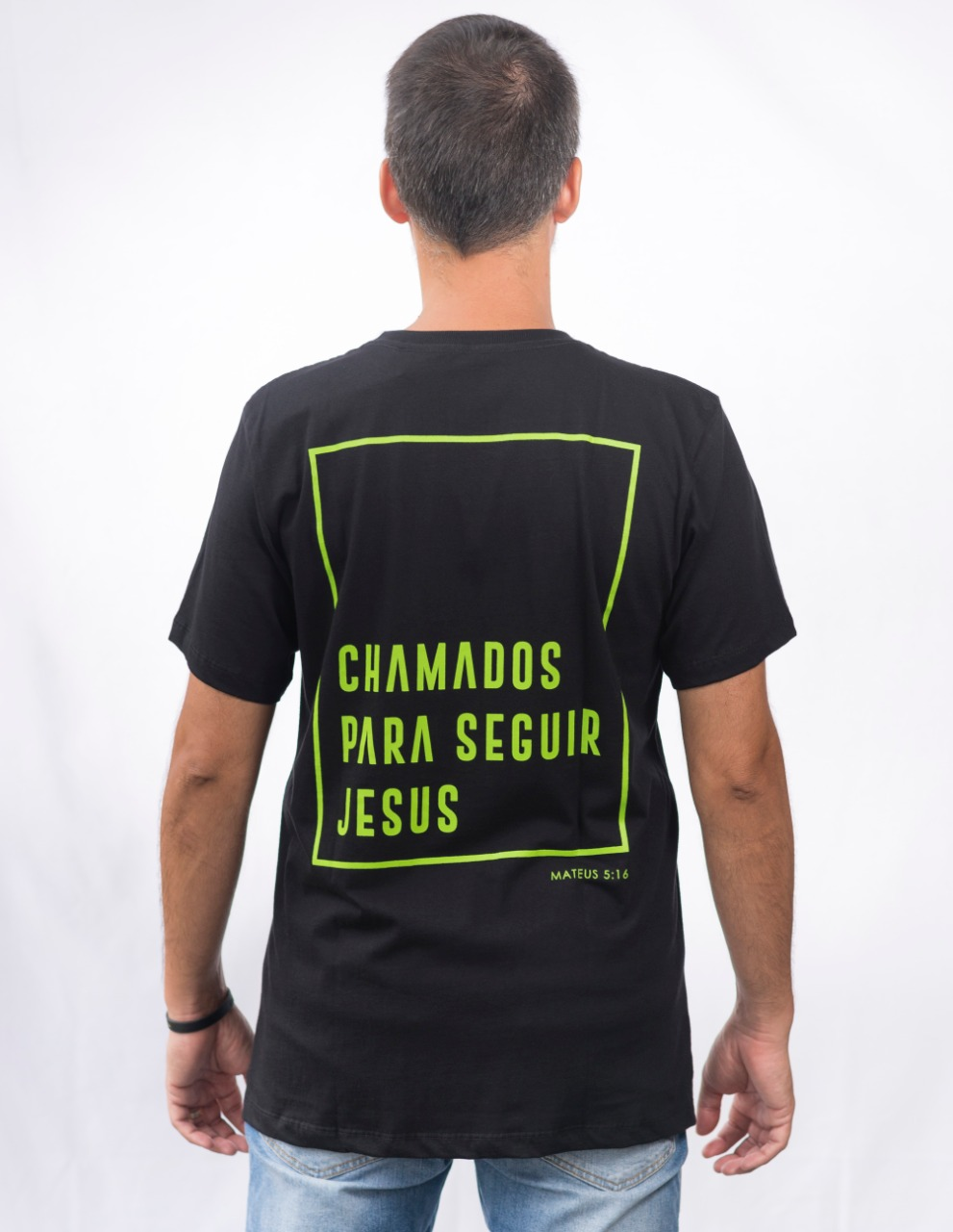 Camiseta Onda Dura Faixa Verde Neon