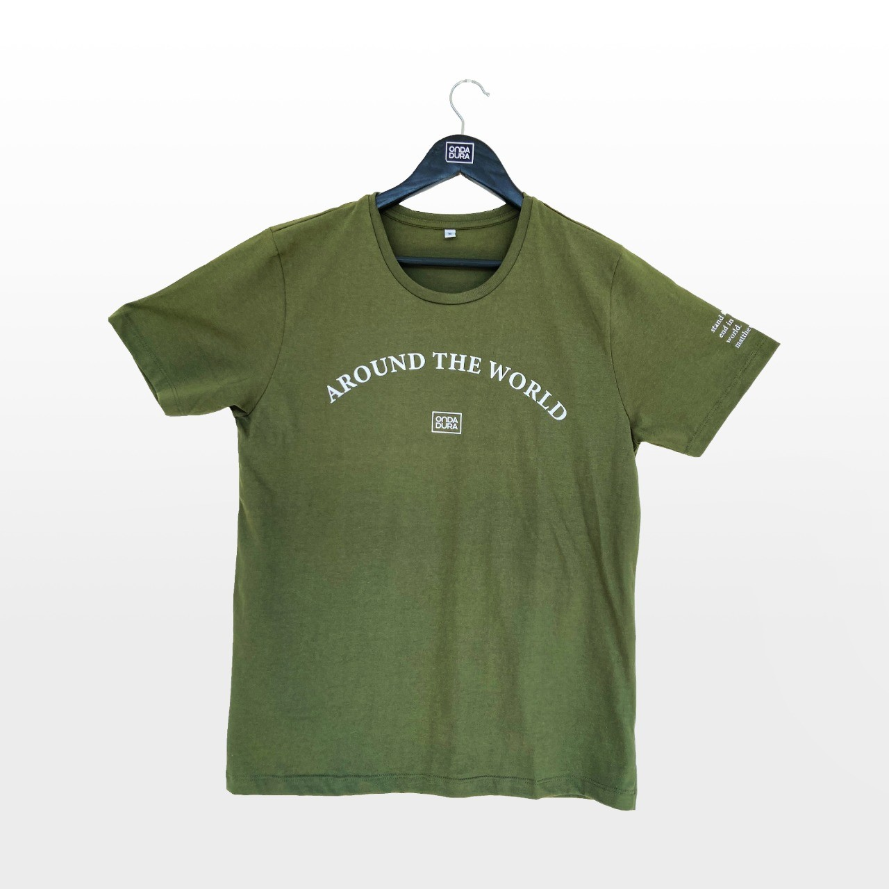 Camiseta verde World Wide