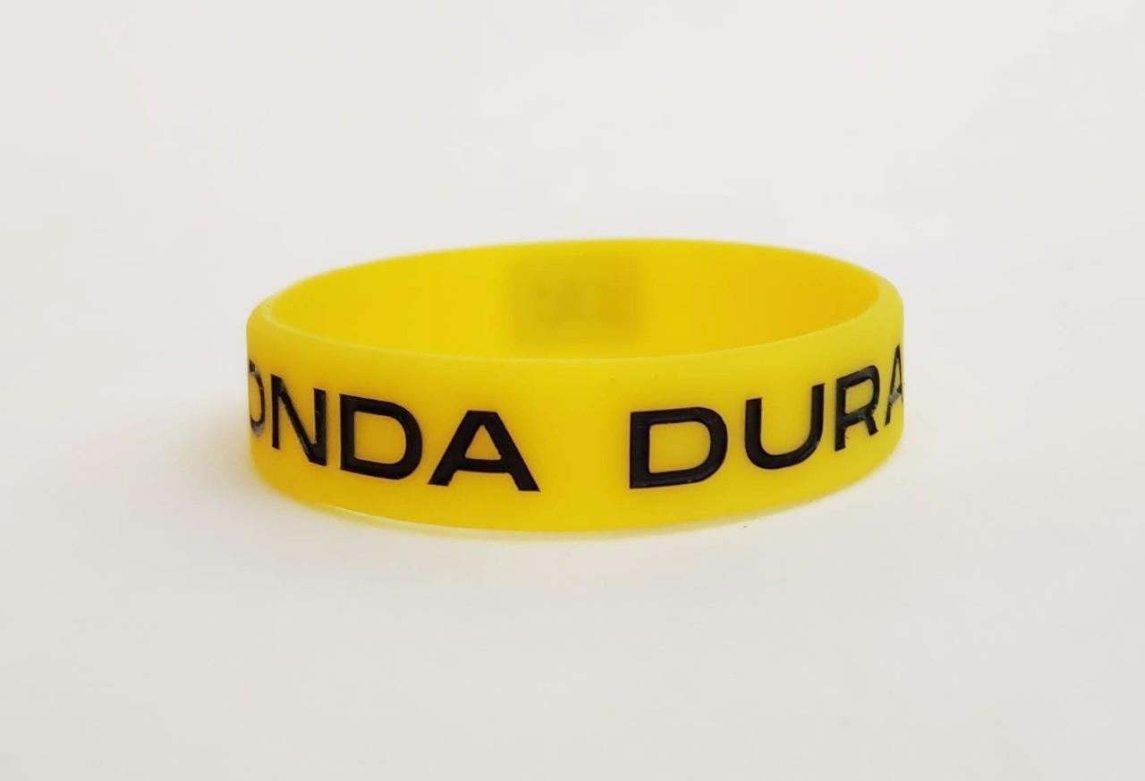 Pulseira oficial Onda Dura cor amarela