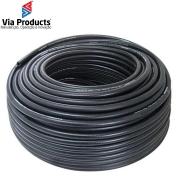 """MANGUEIRA 1/4"""" HIDRO AR - PVC PRETO - 300PSI"""