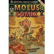 MOLUSCOMIX Nº 006 - TWOMAIKE NINJA - GIBI IMPRESSO