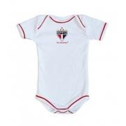 Body São Paulo Oficial Branco - Torcida Baby