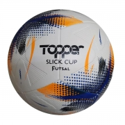 Bola Futsal Topper Slick Cup 1gdp - Azul