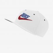 Boné Nike Futura Pro Aba Reta Branco