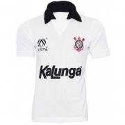 Camisa Corinthians Retrô 1990 Kalunga Finta
