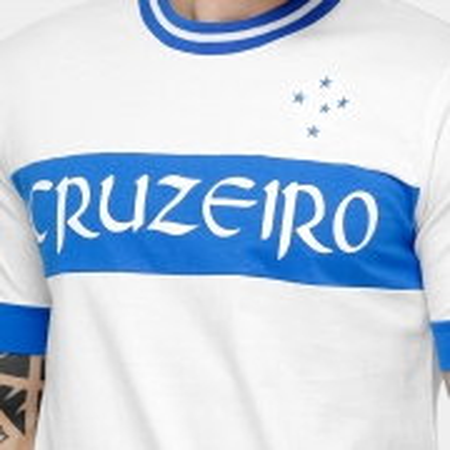 Camisa Cruzeiro recorte 1910 NATURAL