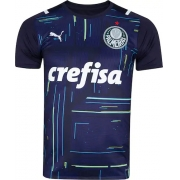 Camisa Palmeiras goleiro I PUMA - azul