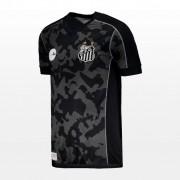 Camisa Santos Cinza Kombat Kappa - Masculino