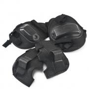 Kit proteção infantil skate joelheira + cotoveleira NIPO