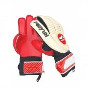 Luva de goleiro profissional lexus pro podyun - branca/vermelha
