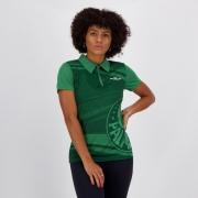 Polo Palmeiras feminina licenciada MELTEX