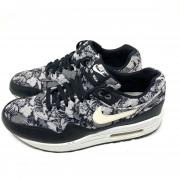 Tênis Nike Air Max 1 Floral Cinza - Unissex