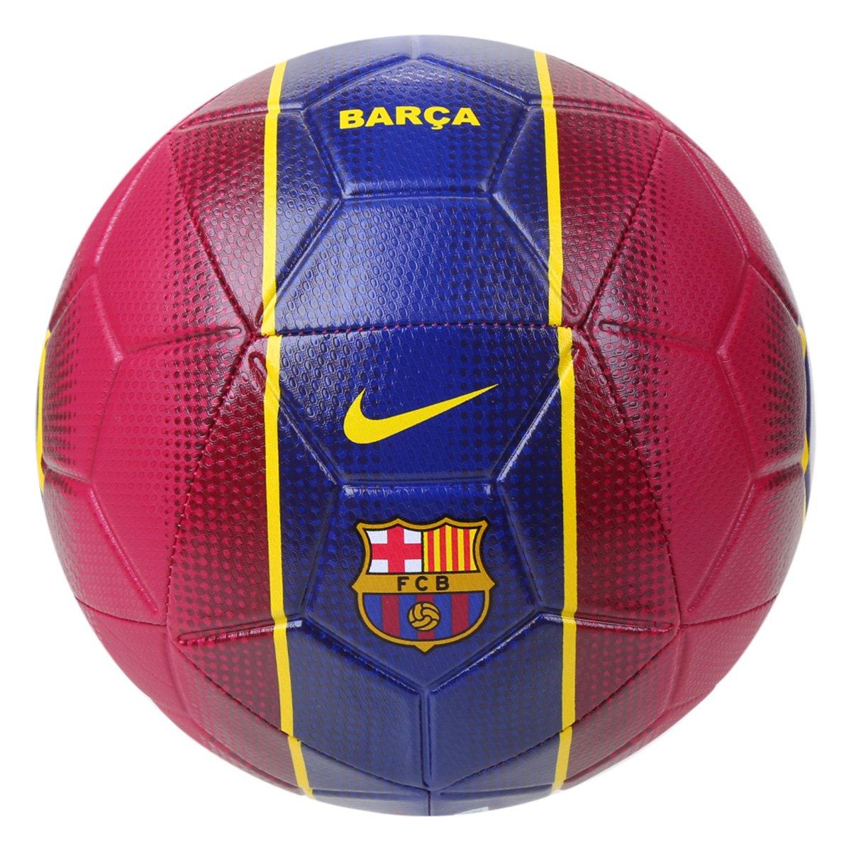 Bola Barcelona Vinho e Azul Unissex Strike Nike