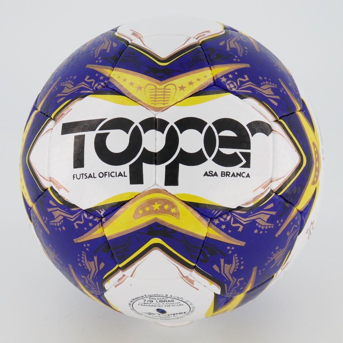 Bola Futsal Asa Branca C/C Topper
