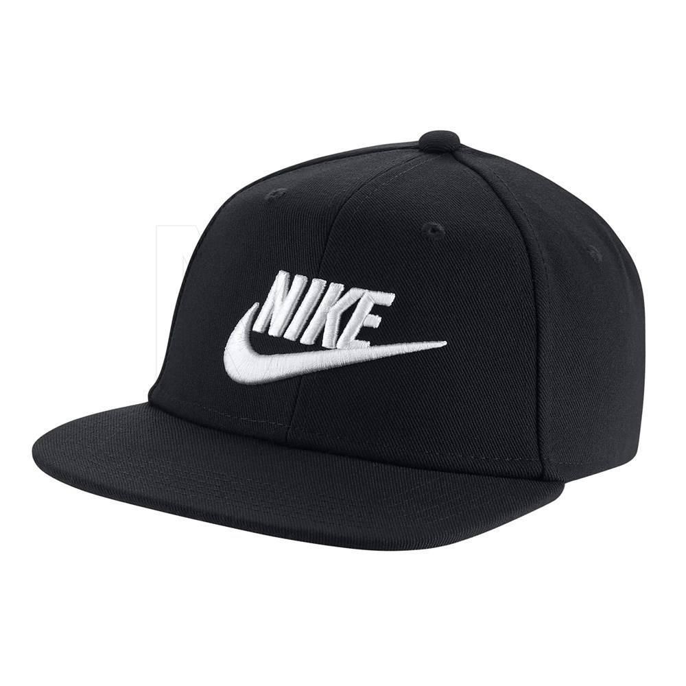 Boné Nike Futura Pro Aba Reta Preto