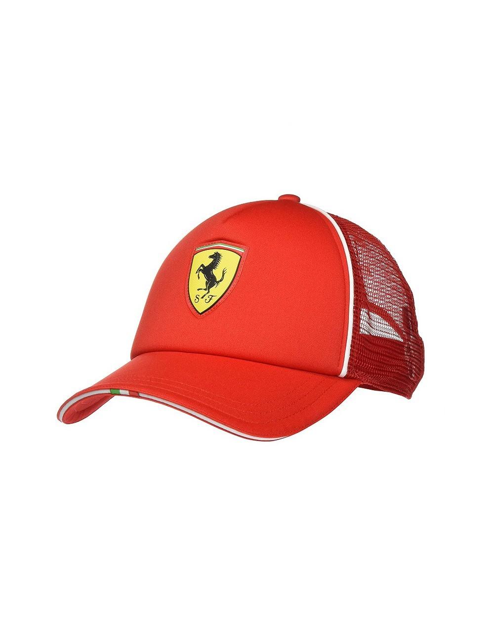 Boné Ferrari FanWear Trucker Puma - Unissex