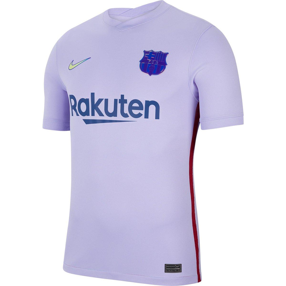 Camisa Barcelona II 21/22 NIKE