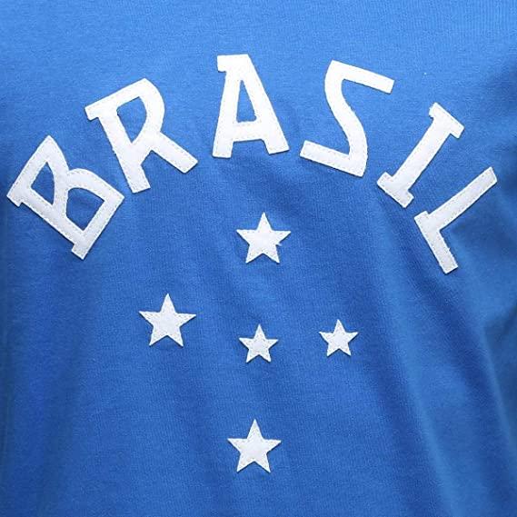 Camisa Brasil Retro Natural