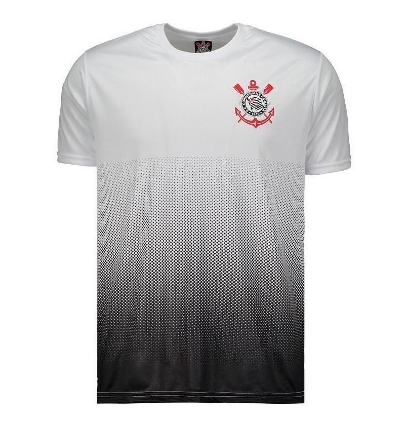 Camisa Corinthians Branca Clair SPR - Masculino