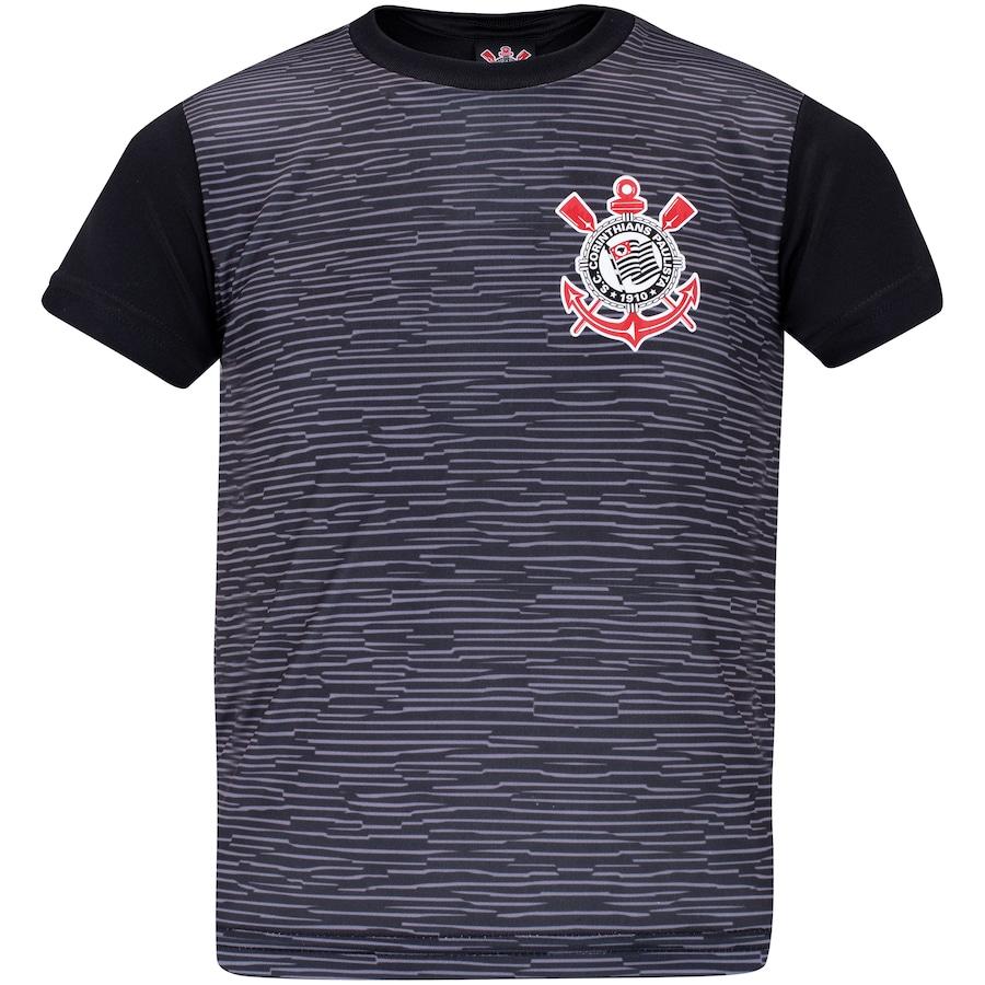 Camisa Corinthians infantil sublime