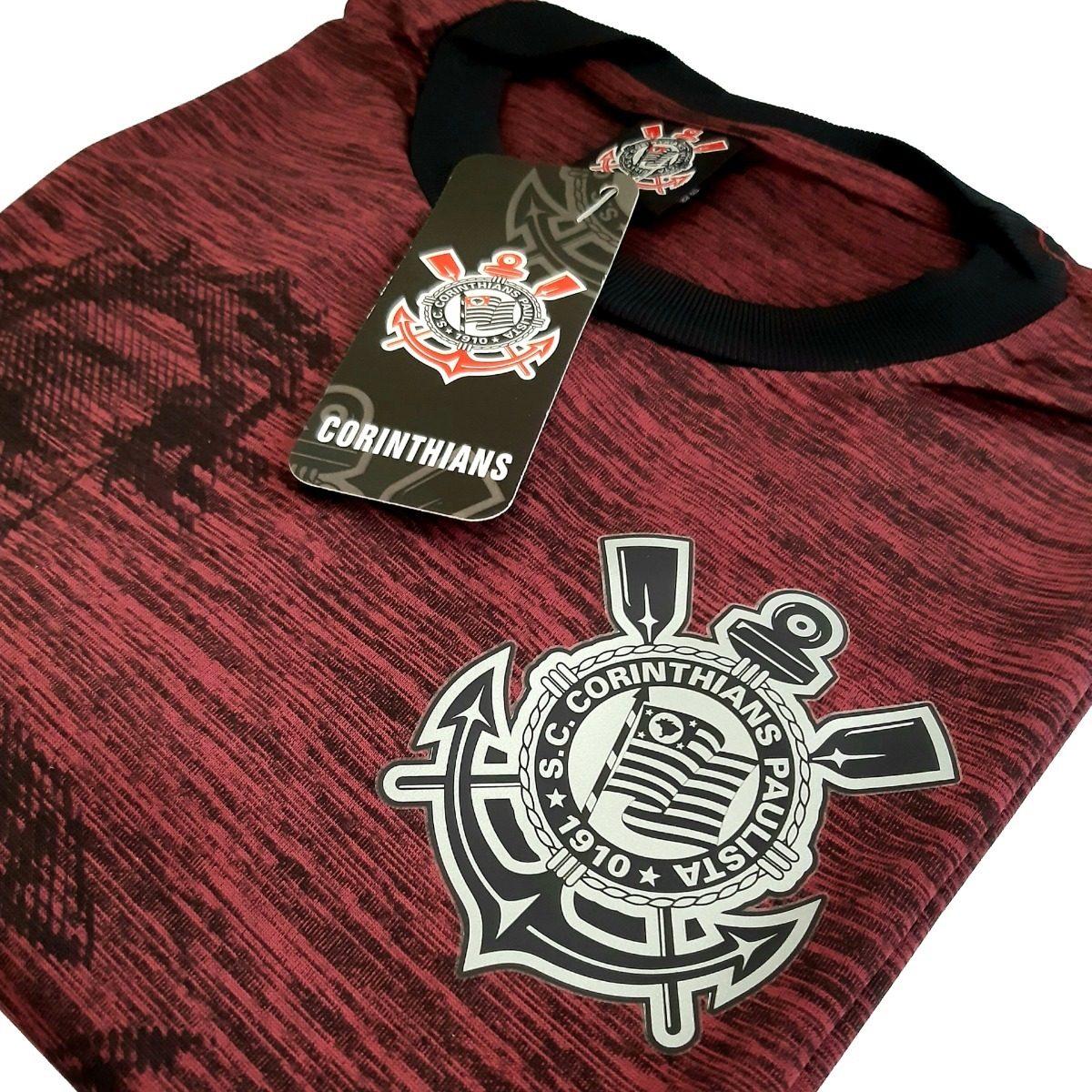 Camisa Corinthians São Jorge Fio Tinto SPR - Masculino