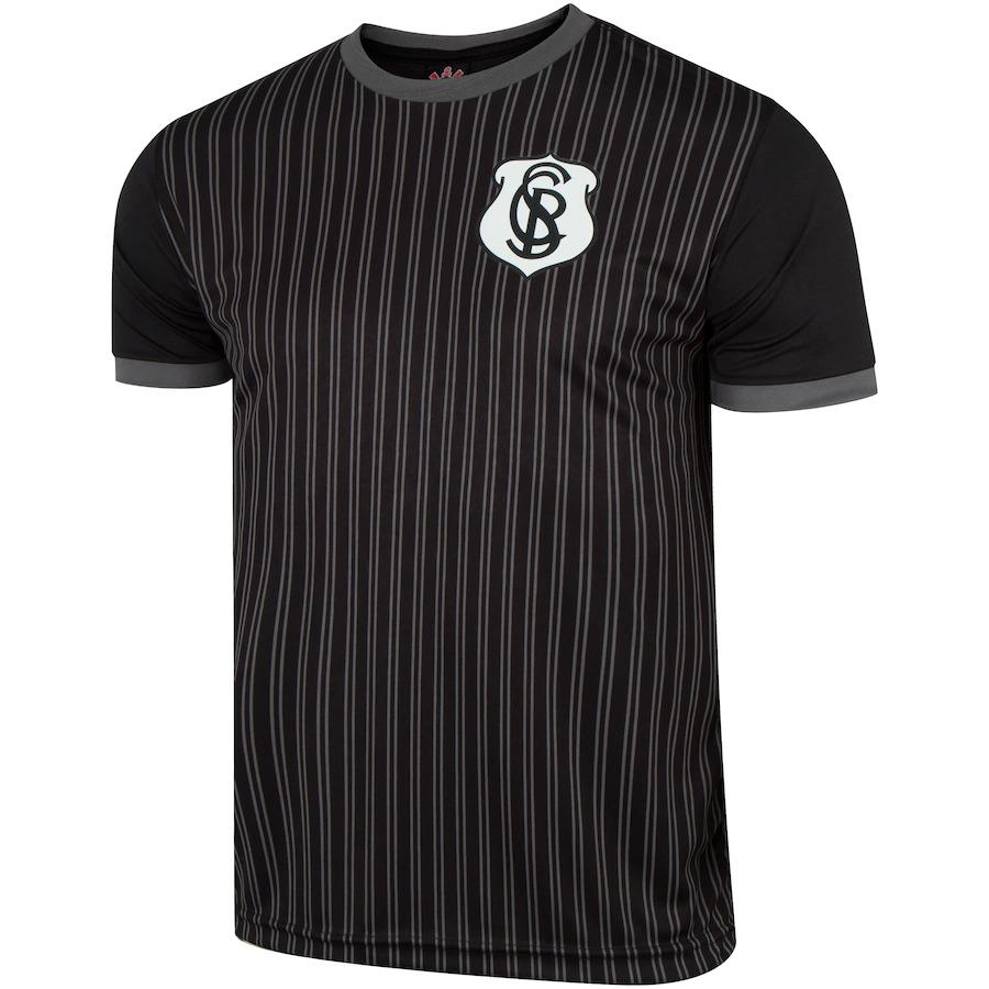 Camisa Corinthians splendid SPR - preta