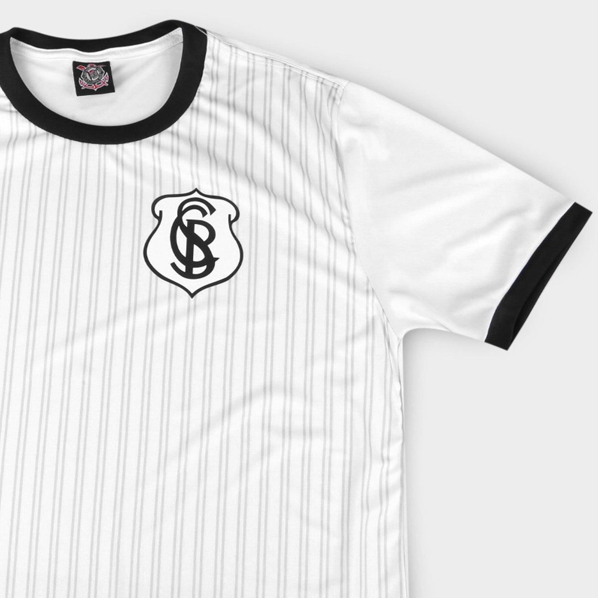 Camisa Corinthians splendid SPR - branca