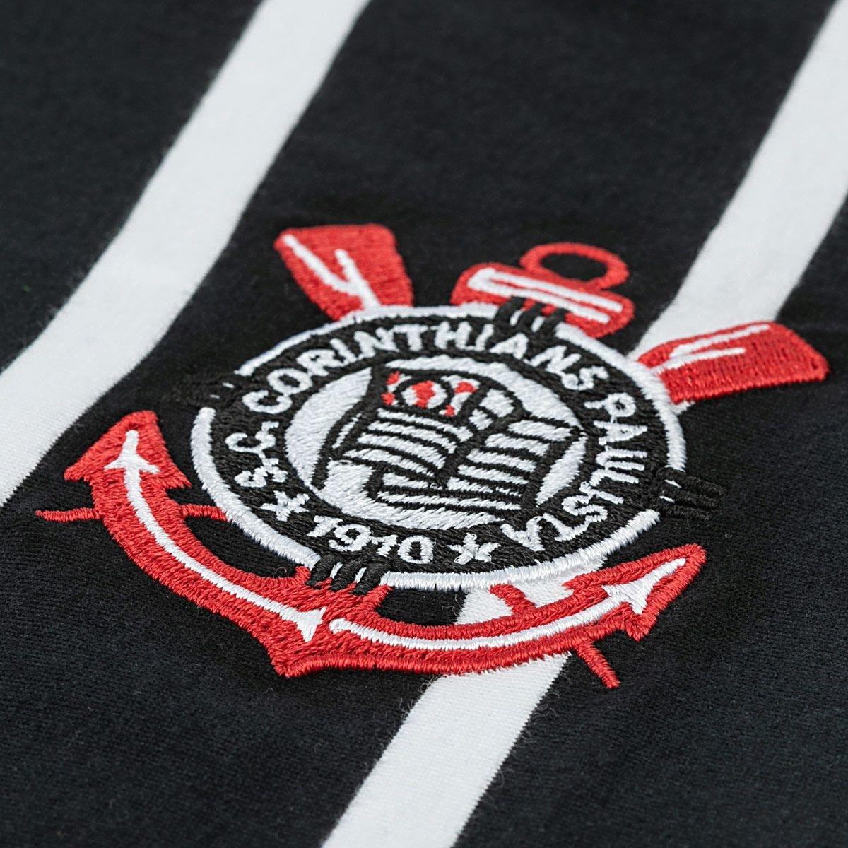 Camisa Corinthians Tradição Democracia Listrada SPR - Masculino