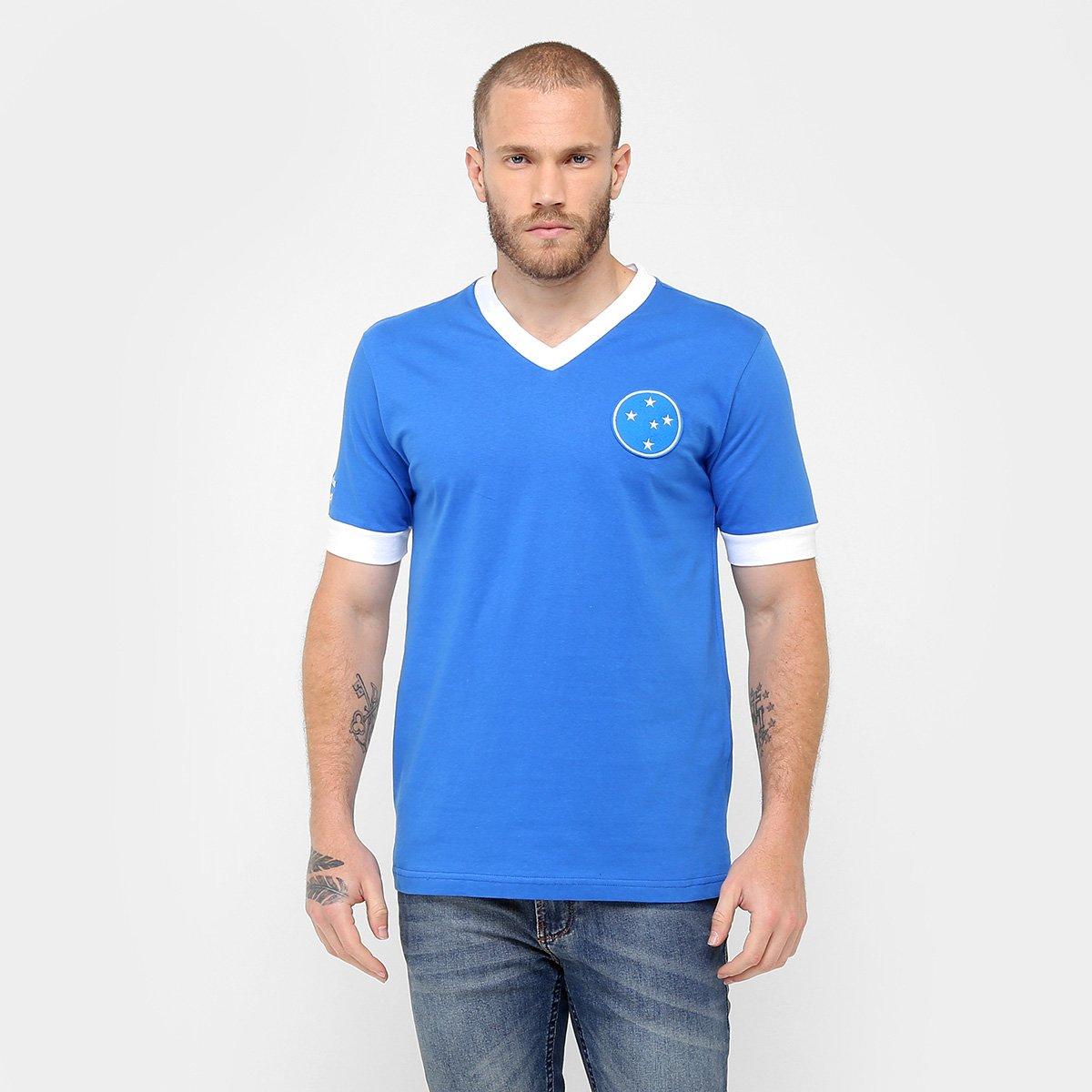 Camisa Cruzeiro retro 1949 1910 NATURAL