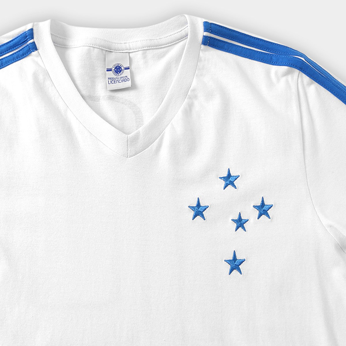 Camisa Cruzeiro Retro 1987 Natural - Masculino