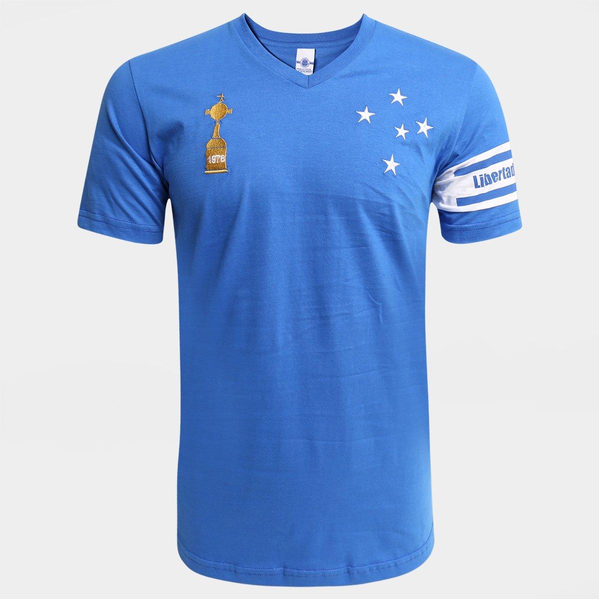 Camisa Cruzeiro Libertadores 1976 - Masculino