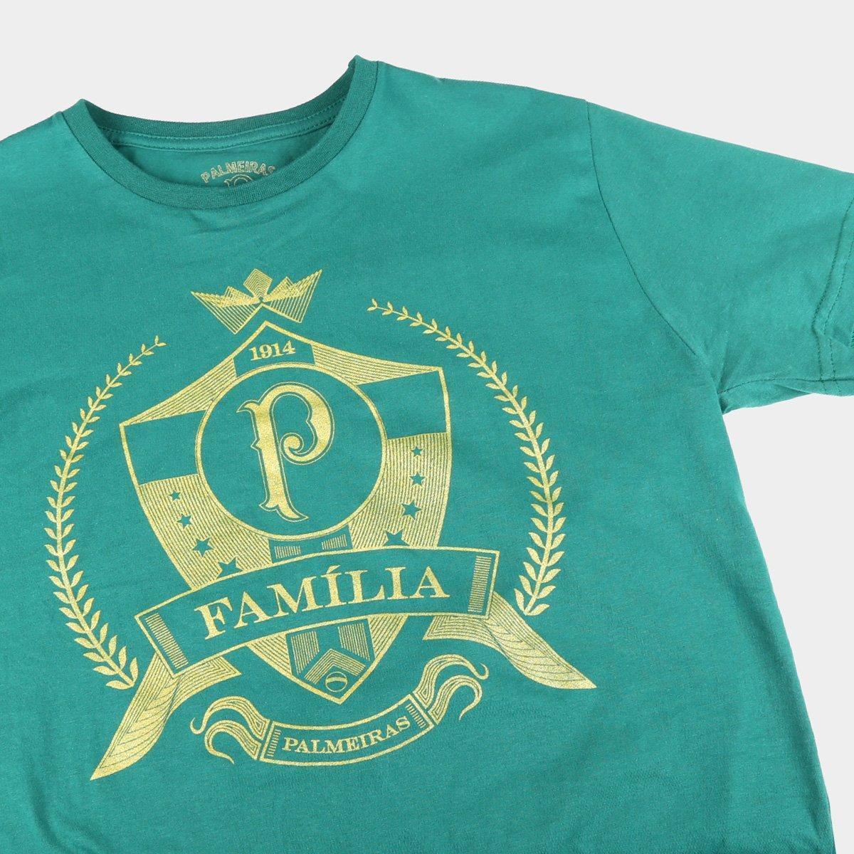CAMISA PALMEIRAS ESCUDO FAMILIA MELTEX
