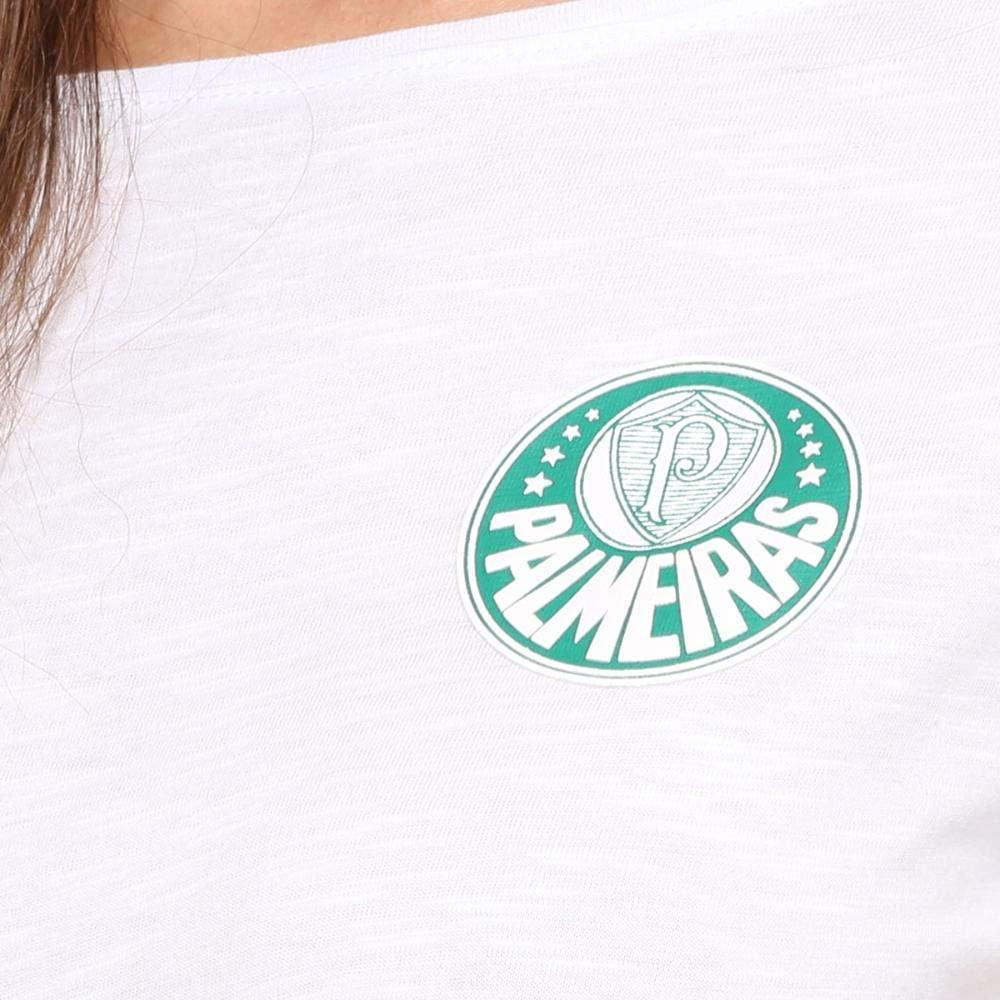 Camisa Palmeiras feminina escudo