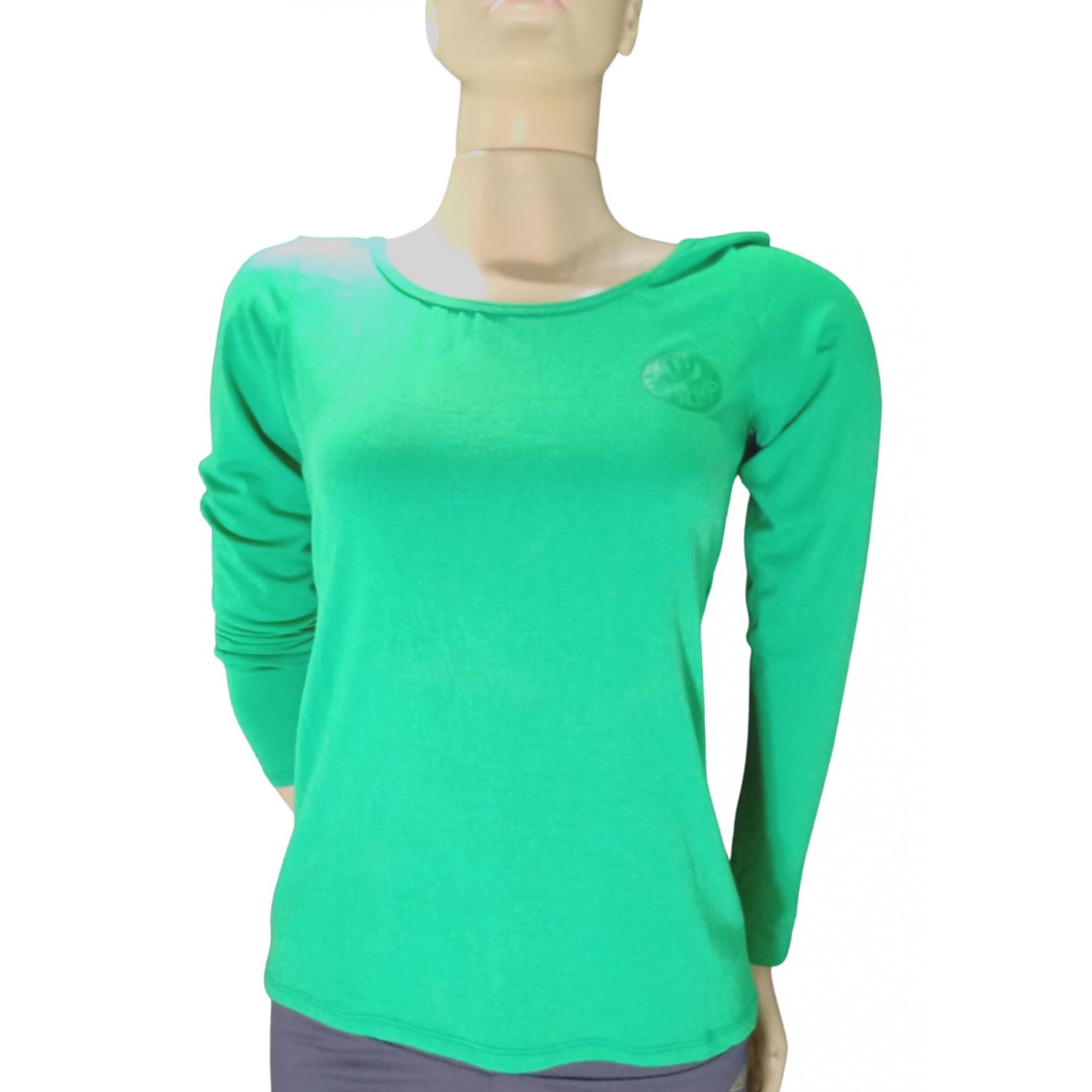 Camisa Palmeiras feminina manga longa
