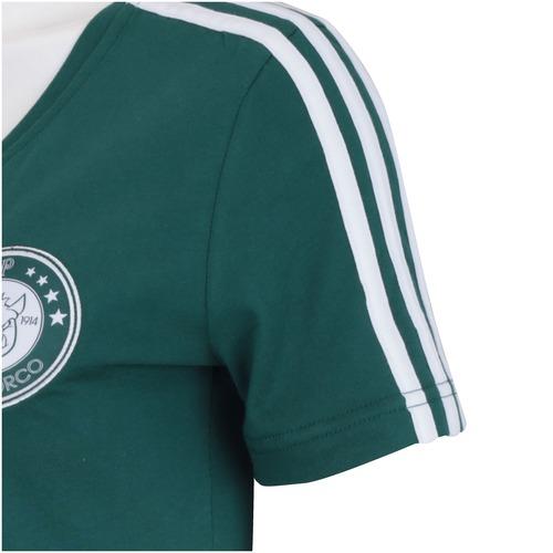 Baby Look Palmeiras Adidas Tee Da-lhe Porco