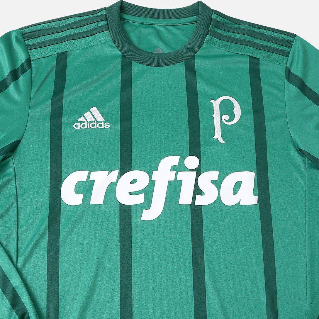 Camisa Palmeiras I Manga Longa 20172018 Adidas