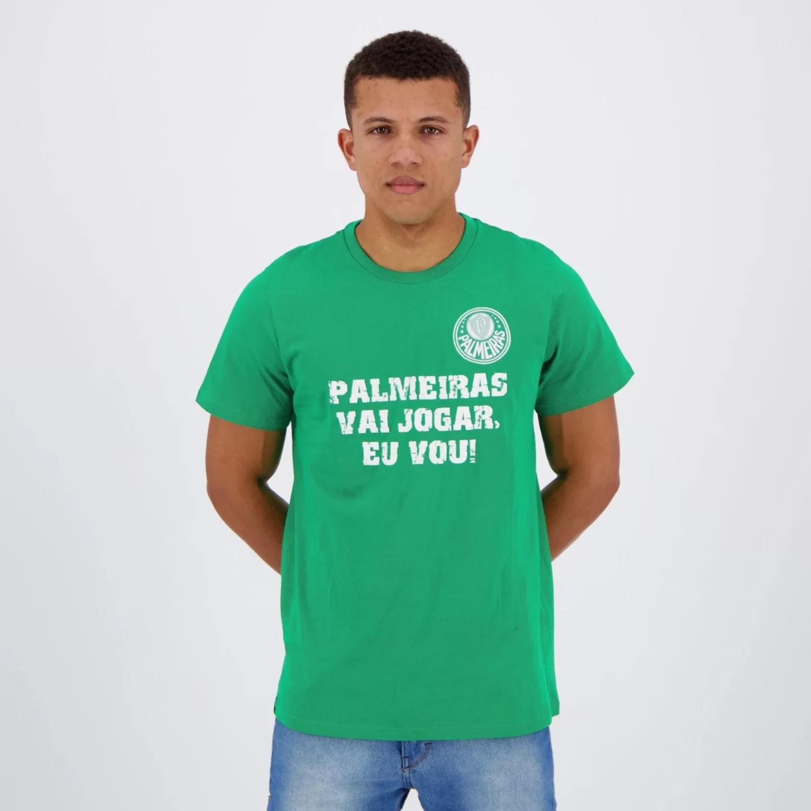Camisa Palmeiras vai jogar