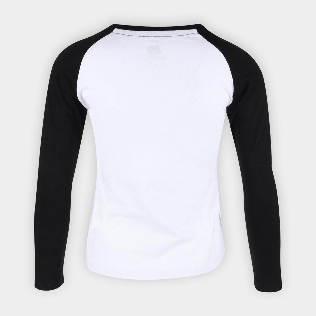 Camisa Santos Manga Longa Meltex